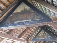 Deckengemälde auf der Kapellbrücke