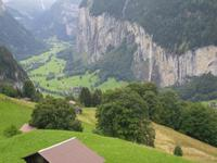 Blick auf Lauterbrunnen