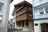 Bemalte Häuser in Appenzell