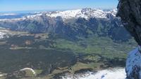 0318 Ausflug zum Jungfraujoch -  Blick aus der Eigernordwand