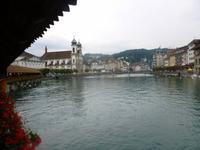 Stadtführung in Luzern (Spaziergang über die Kapellbrücke)
