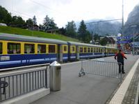 Berner Oberland Bahn in Grindelwald