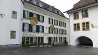 0214 Thun - Stadtführung - Rathausplatz - Zunfthaus zum Pfister