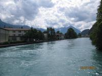 An der Aare in Interlaken
