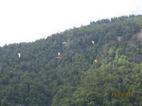 Paragliding über Interlaken