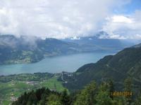 Der Blick über Interlaken