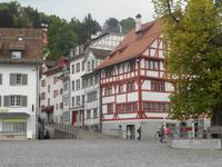 Stadtrundgang in St. Gallen (Gallus-Platz)