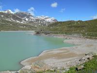 Fahrt mit dem Bernina-Express (Lago Bianco)