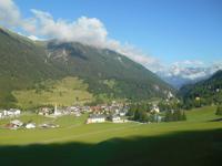 Fahrt mit dem Glacier-Express (Bergün)