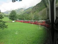 0140 Glacier-Bernina-Express- Fahrt mit dem Bernina-Express - Kreisviadukt Brusio