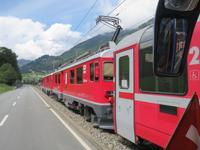 0172 Glacier-Bernina-Express- Bernina-Express in Le Prese