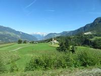 0250 Glacier-Bernina-Express- Fahrt mit dem Glacier-Express - im Prättigu