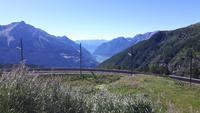 Fahrt mit dem Bernina-Express (Foto-Halt in