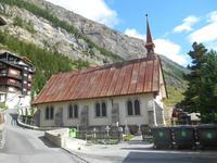 Englische Kirche in Zermatt