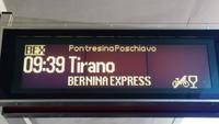 Das ist der Zielbahnhof in Italien