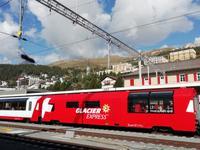 Heute fahren wir mit dem Glacier-Express