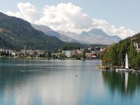 Am See von St. Moritz