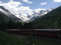 am Moteratsch-Gletscher