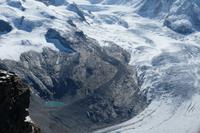 Blick zur Monte Rosa Hütte