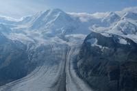 Der Liskam mit Gletscher