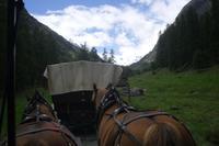 Kutschfahrt im Val Roseg