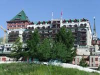 Das Palace-Hotel in St. Moritz