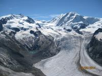 Gletscher rundum Zermatt