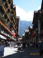 Auf Rundgang durch Zermatt