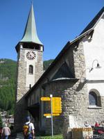 Auf Rundgang durch Zermatt - Hauptplatz