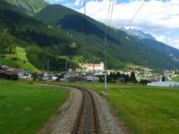 Fahrt mit dem Glacier-Express (Disentis)