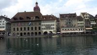 Luzern, Stadtführung mit Susy,Blick von der Kapellbrücke
