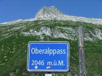 An der Passhöhe