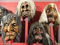 Furchterregende Masken