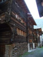 Alte Holzhäuser in Kippel