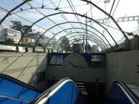 Zugang zum unterirdischen Bahnhof der Centovalli Bahn