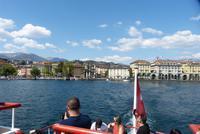 Eine Seerundfahrt in Lugano