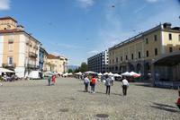 Die Piazza Grande in Locarno