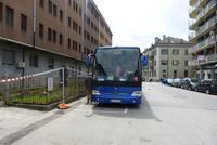 Unser Bus in Domodossola