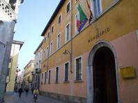 Altstadt in Como mit Rathaus