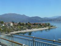 Fahrt entlang des Lago Maggiore (Cannero Riviera)