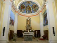 Verzascatal (Sonogno - Kirche Santa Maria Lauretana)