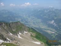 IMG_3520 Der Blick von der Pyramide der Schweiz - der Niesen
