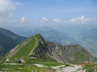 IMG_3524 Der Blick von der Pyramide der Schweiz - der Niesen