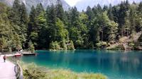 Besuch am Blausee