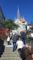 Lausanne (Aufstieg zur Kathedrale)