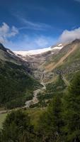 Unterwegs im Bernina Express - Palü Gletscher