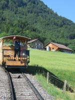 Ausflug auf das Stanserhorn - Standseilbahn