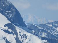 Auf dem Schilthorn - der Mont Blanc
