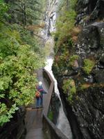 Wanderung von Blatten nach Zermatt (Gornerschlucht)