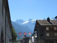 018 Engelberg - Blick in die Berge